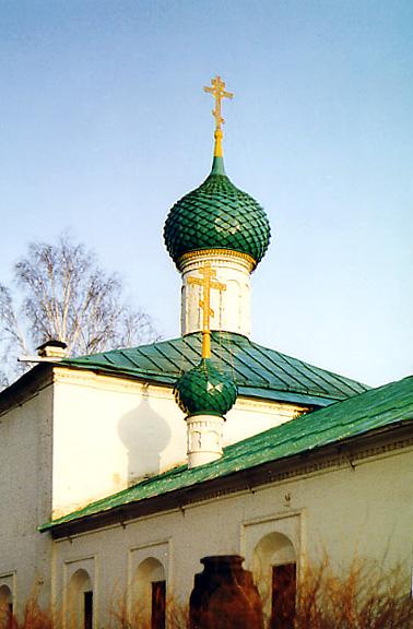 Церковь Параскевы Пятницы на Туговой горе в г. Ярославль